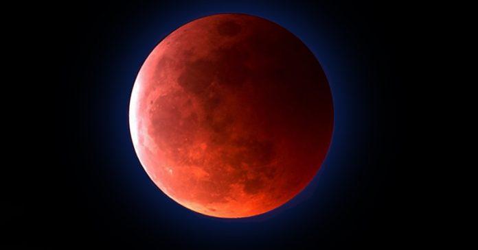 super blood blue moon January 31 2018